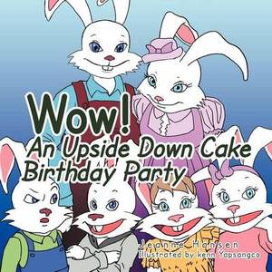 Wow! an Upside Down Cake Birthday Party!
