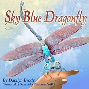 Sky Blue Dragonfly