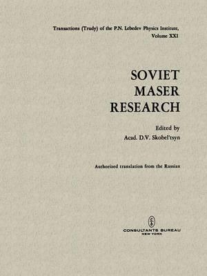 Soviet Maser Research