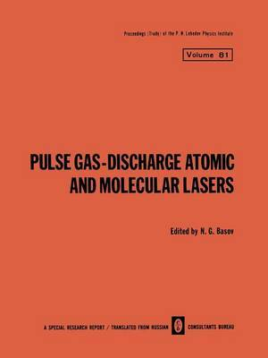 Pulse Gas-Discharge Atomic and Molecular Lasers