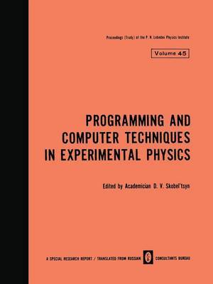 Programming and Computer Techniques in Experimental Physics
