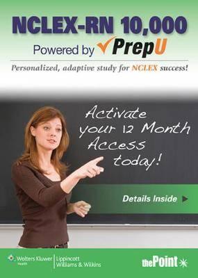 LWW NCLEX-RN 10,000 PrepU Plus DocuCare Six-Month Access Package