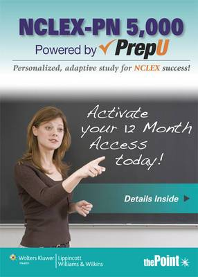 Lww NCLEX-PN 5,000 Prepu; Cohen 7e Text; Plus Lww Docucare Six-Month Access Package