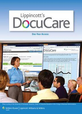Lippincott Docucare 18 Month Plus Pellico Adult Health with PrepU Package