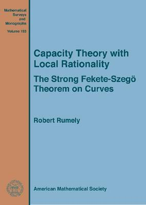 Capacity Theory with Local Rationality: The Strong Fekete-Szego Theorem on Curves