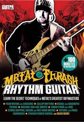 Guitar World -- Metal and Thrash Rhythm Guitar: Learn the Secret Techniques of Metal's Greatest Riffmasters, DVD