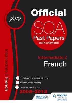 SQA Past Papers Intermediate 2 French: 2013