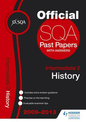 SQA Past Papers Intermediate 2 History: 2013