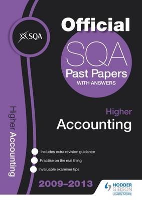 SQA Past Papers Higher Accounting: 2013