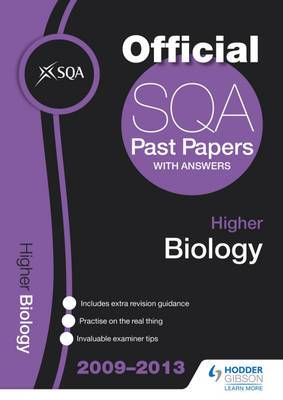 SQA Past Papers Higher Biology: 2013