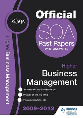 SQA Past Papers Higher Business Management: 2013