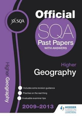 SQA Past Papers Higher Geography: 2013