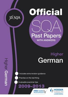 SQA Past Papers Higher German: 2013