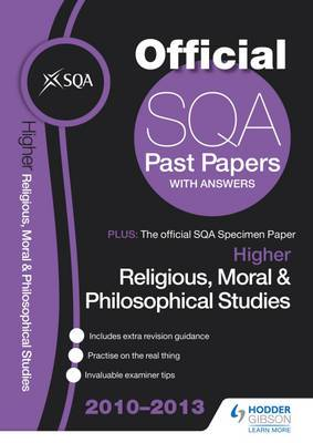 SQA Past Papers Higher Religious, Moral & Philosophical Studies: 2013