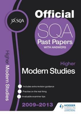 SQA Past Papers Higher Modern Studies: 2013