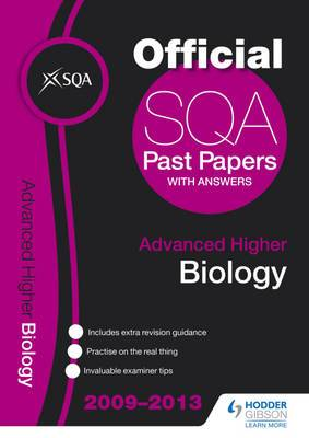 SQA Past Papers Advanced Higher Biology: 2013