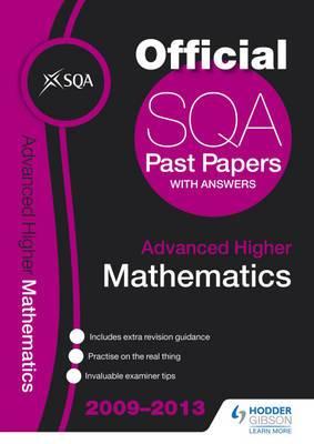 SQA Past Papers Advanced Higher Mathematics: 2013