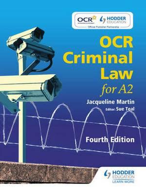 OCR Criminal Law for A2