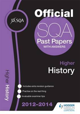 SQA Past Papers 2014-2015 Higher History