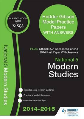 SQA Specimen Paper, 2014 Past Paper National 5 Modern Studies & Hodder Gibson Model Papers