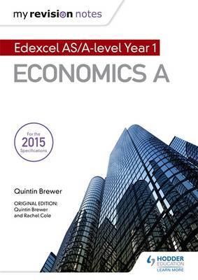 My Revision Notes: Edexcel AS Economics Second Edition