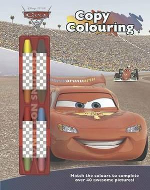Disney Cars 2 Copy Colouring