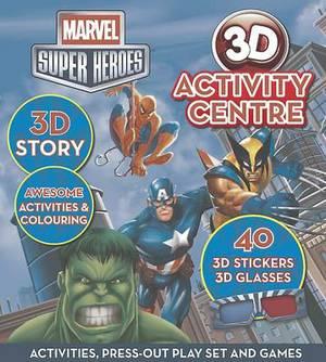 Marvel Super Heroes 3d Activity Centre