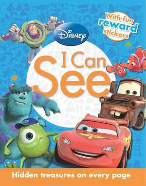 Disney Pixar I Can See: Hidden treasures on every page