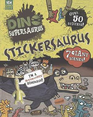 Dino Supersaurus: Stickersaurus