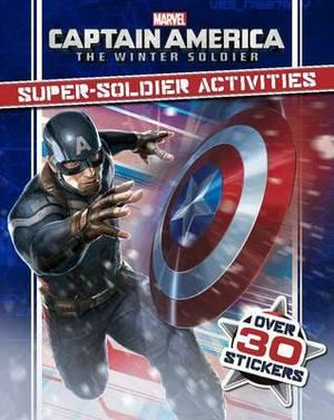 Marvel Captain America the Winter Soldier Super-Soldier Activities