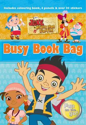 Disney Jake and the Never Land Pirates Busy Book Bag