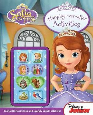 Disney Junior Sofia the First: Happily-Ever-After Activities: Lots of activities to keep a little princess happy!
