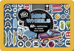 Mini Wheels - 60+ Vehicles to Make and Race, in a Cool Mini Tin with Over 150 Stickers