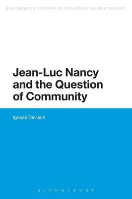 Jean-Luc Nancy and the Question of Community