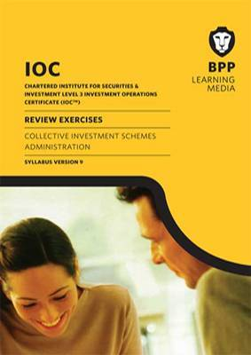 IOC Collective Investment Schemes Syllabus Version 9: Review Exercises