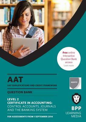 AAT Control Accounts, Journals and the Banking System: Question Bank