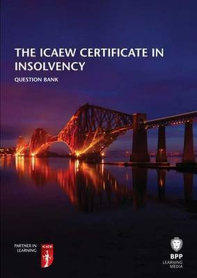 ICAEW Certificate in Insolvency: Question Bank