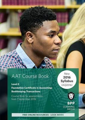 AAT - Bookkeeping Transactions: Coursebook