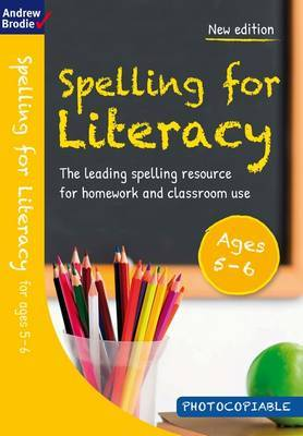 Spelling for Literacy for ages 5-6