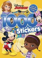 What Could Be More Fun Than A Book Full Of Your Favourite Disney Junior Colouring Scenes How About Adding 1000 Fantastic Stickers And Over 60 Awesome