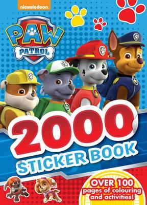 Magrudy com - Nickelodeon PAW Patrol 2000 Sticker Book