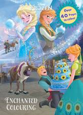 Disney Frozen Enchanted Colouring Has Over 40 Awesome Pages To Colour Grab Your Favourite Pencils Ice Cool With