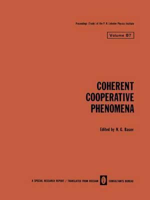 Coherent Cooperative Phenomena
