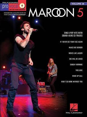 Pro Vocal Men's Edition Volume 28: Maroon 5