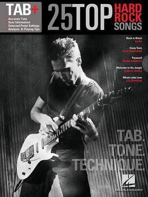 Tab: 25 Top Hard Rock Songs - Tab. Tone. Technique