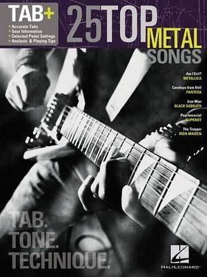 Tab: 25 Top Metal Songs - Tab. Tone. Technique