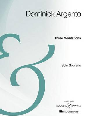 Three Meditations: Solo Soprano Archive Edition