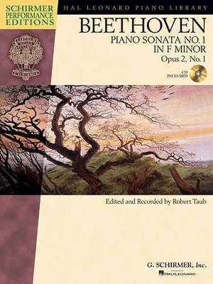 Ludwig Van Beethoven: Piano Sonata No.1 In F Minor Op.2 No.1 (Schirmer Performance Edition)