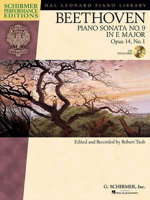Ludwig van Beethoven: Piano Sonata No.9 in E Op.14 No.1 (Schirmer Performance Edition)