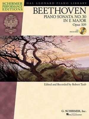 Ludwig van Beethoven: Piano Sonata No.30 in E Op.109 (Schirmer Performance Edition)